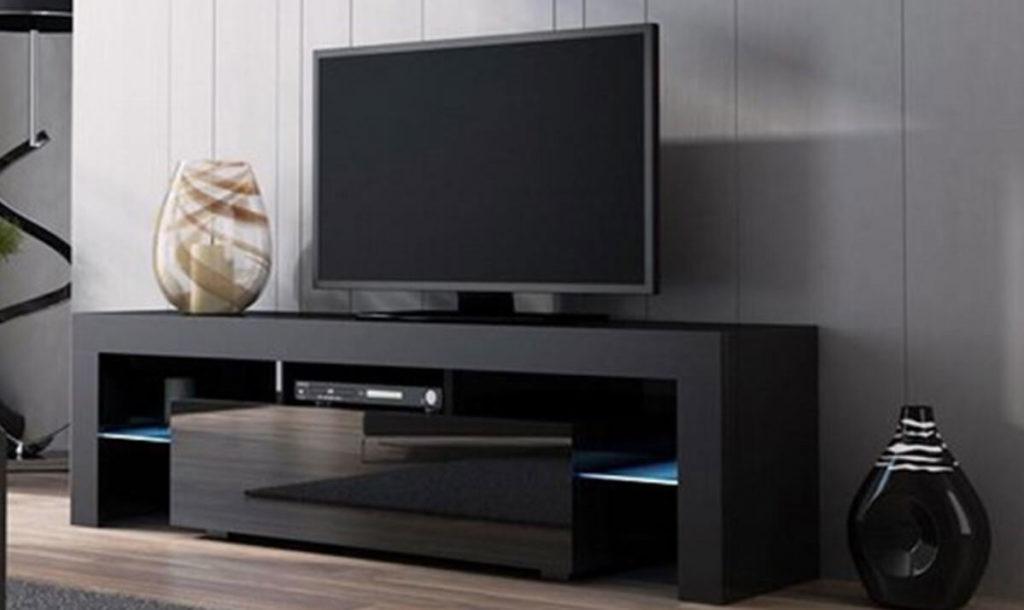 тумба под телевизор в современном стиле фото в интерьере
