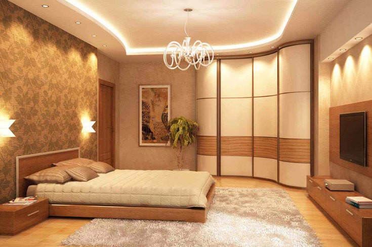 Угловой шкаф купе в спальню: как выбрать