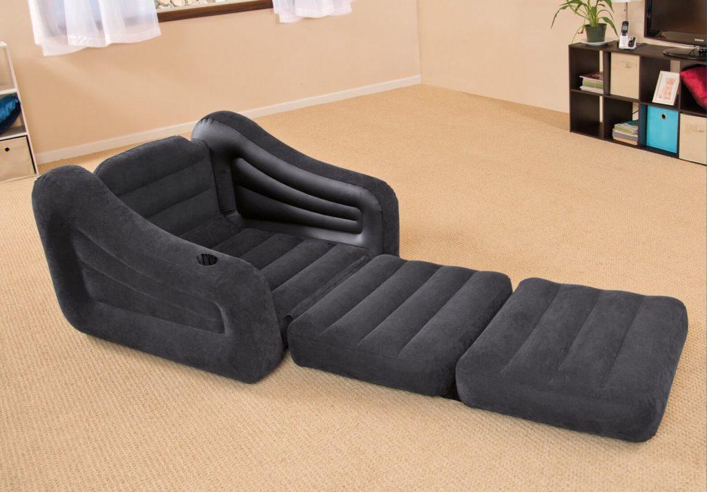 Раскладное надувное кресло кровать