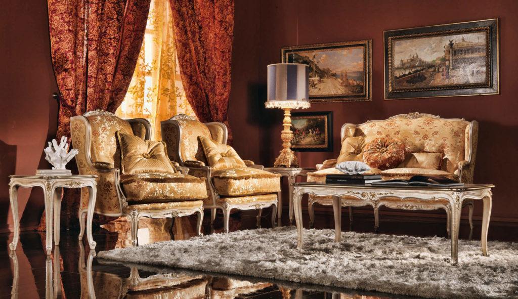 Фото интерьера с креслами в классическом стиле