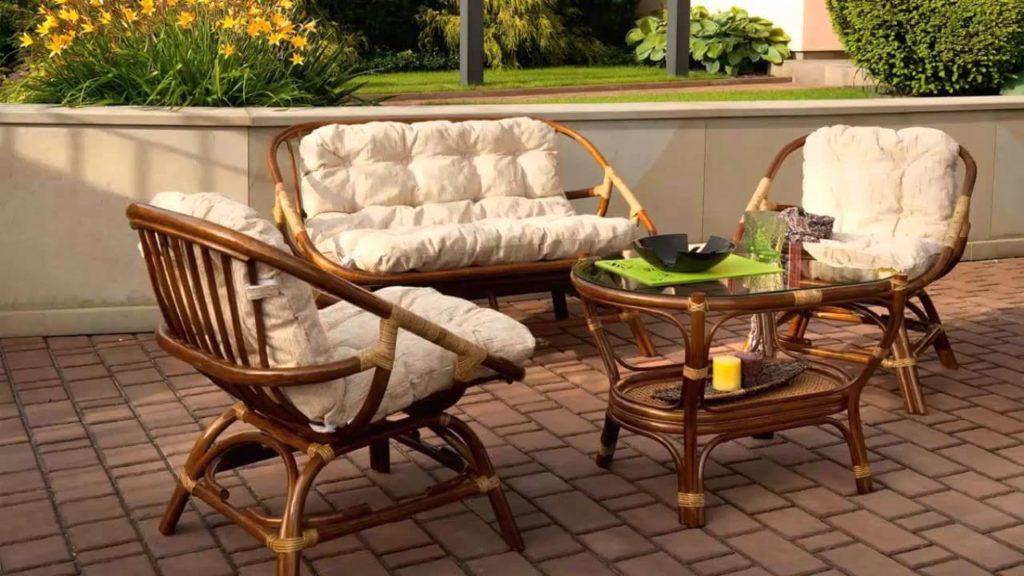 Фото садовой мебели