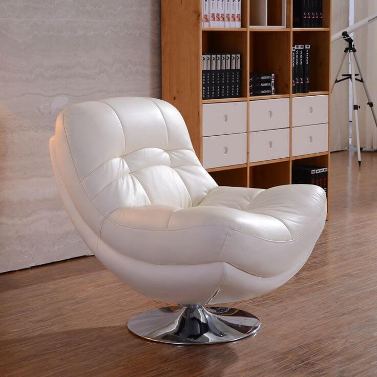 Фото мягкого крутящегося кресла