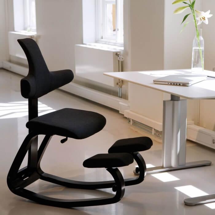 Коленный стул со спинкой