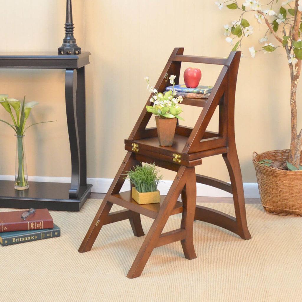 Фото раскладного стула трансформера-лестницы