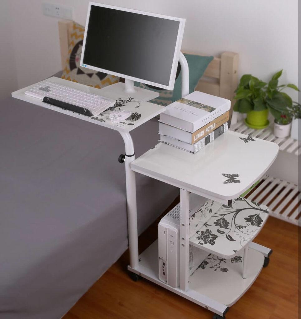 Фото маленького компьютерного стола