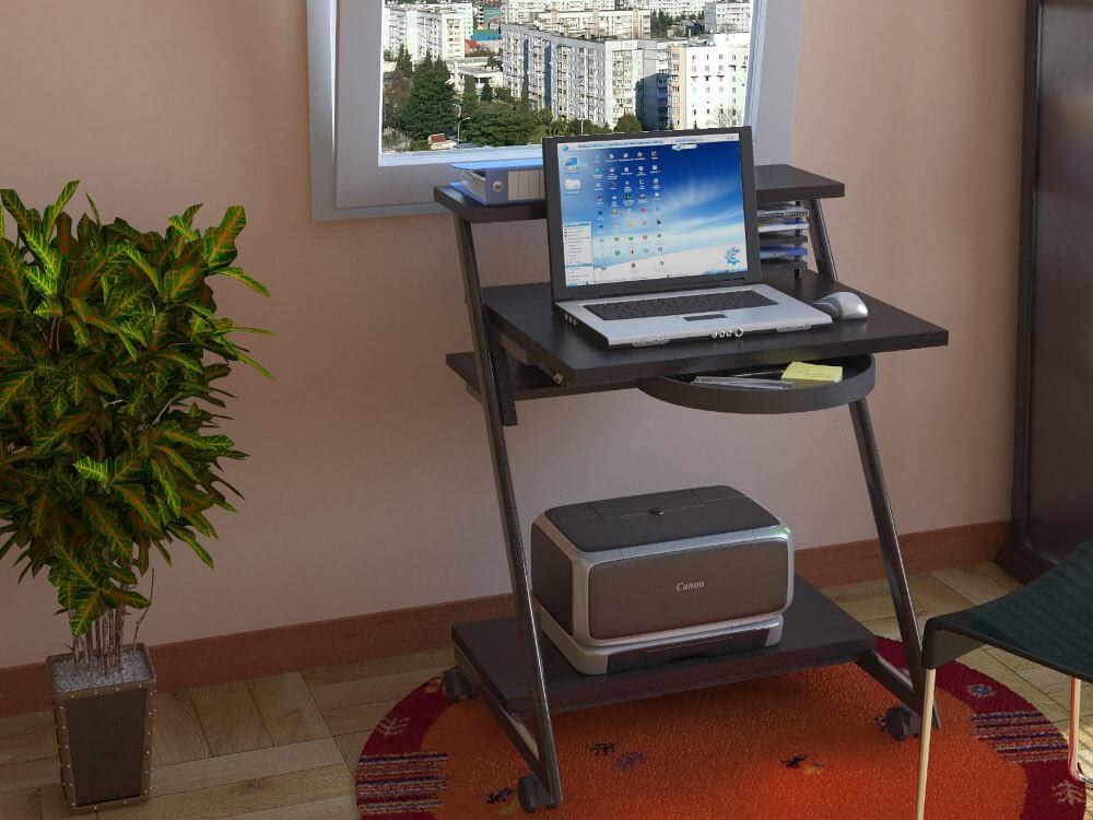 маленький стол для ноутбука