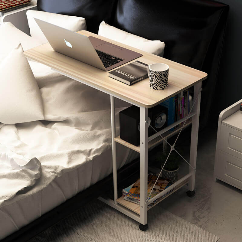 Фото прикроватного подкатного столика для ноутбука