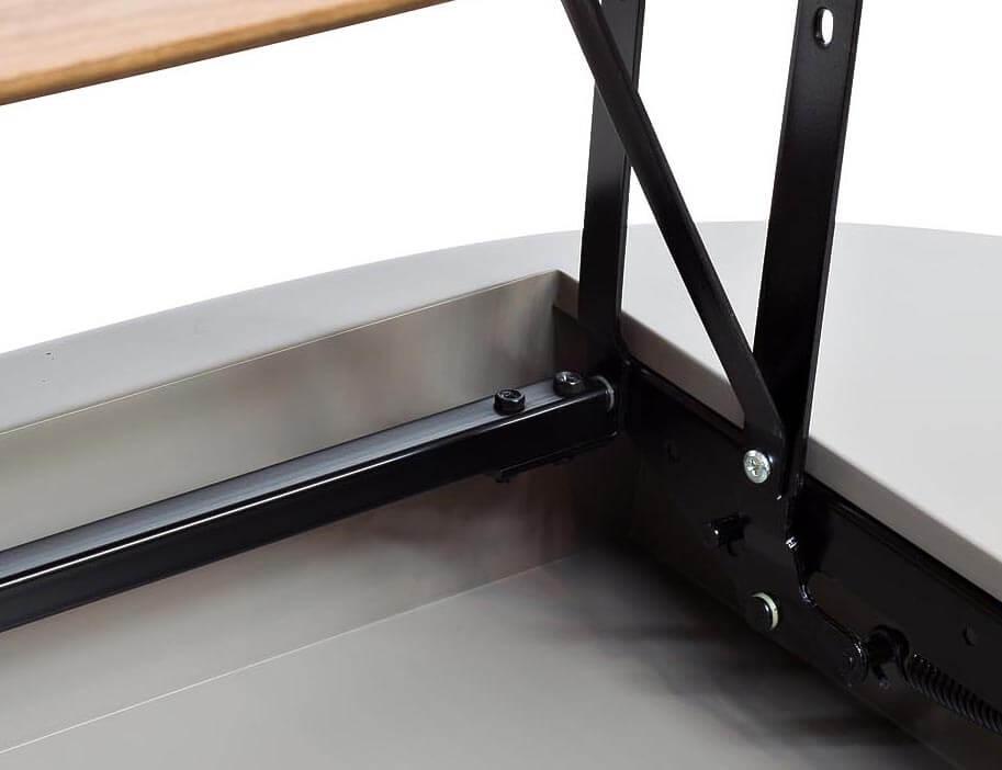 Фото подъёмного механизма столешницы журнального столика