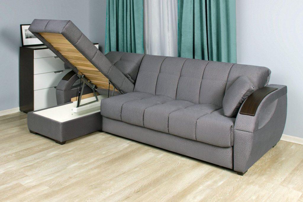 угловой раскладной диван Аккордеон