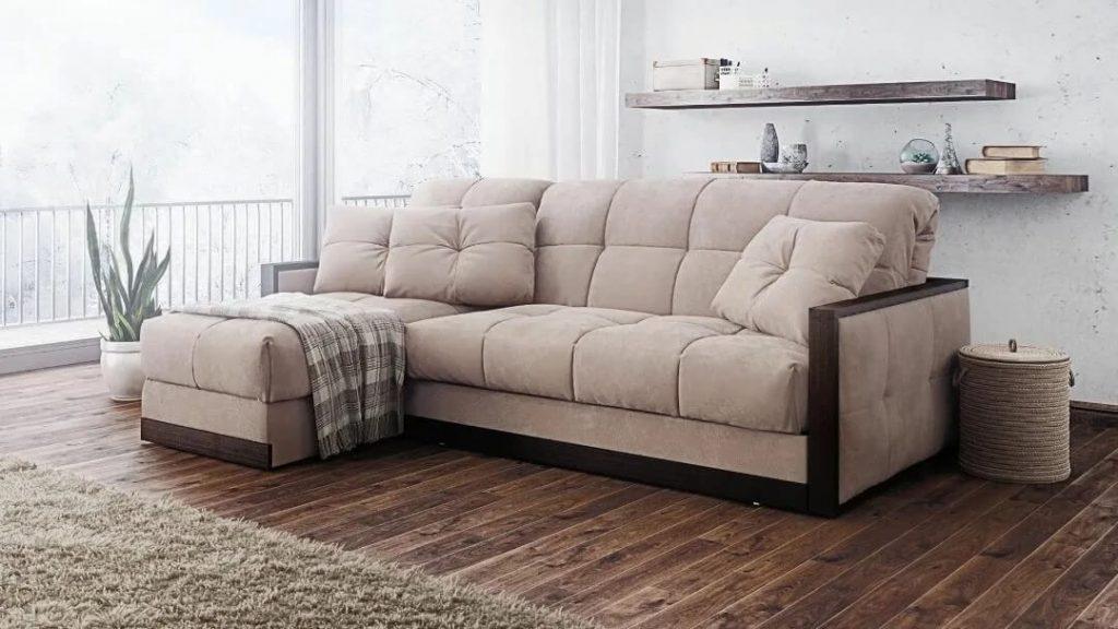угловой диван аккордеон