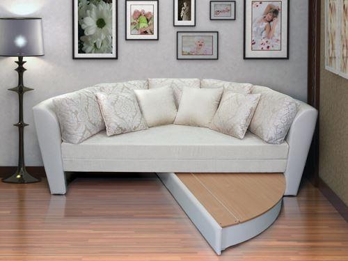Раскладной круглый диван