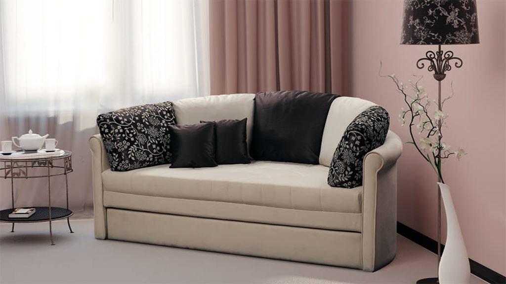 Раскладной круглый диван-трансформер