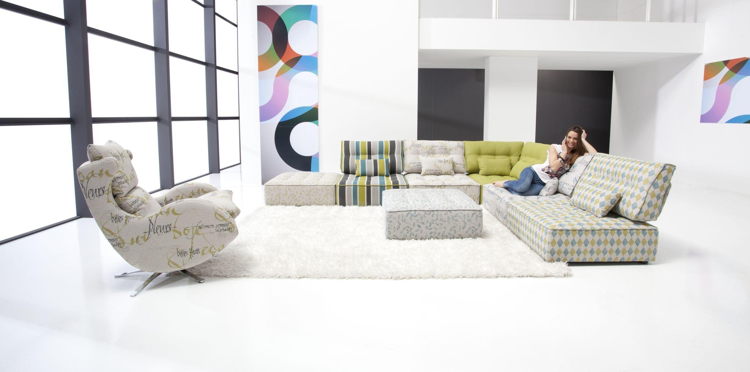 Модульный диван для гостиной (40)