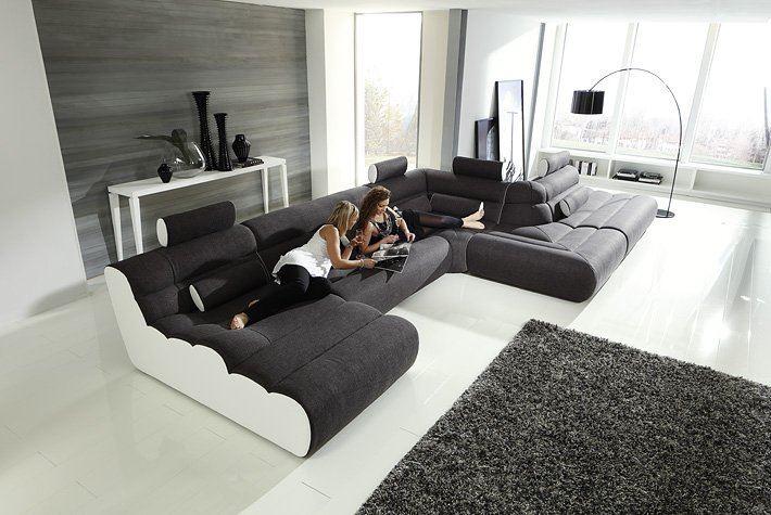 Модульный диван для гостиной (48)
