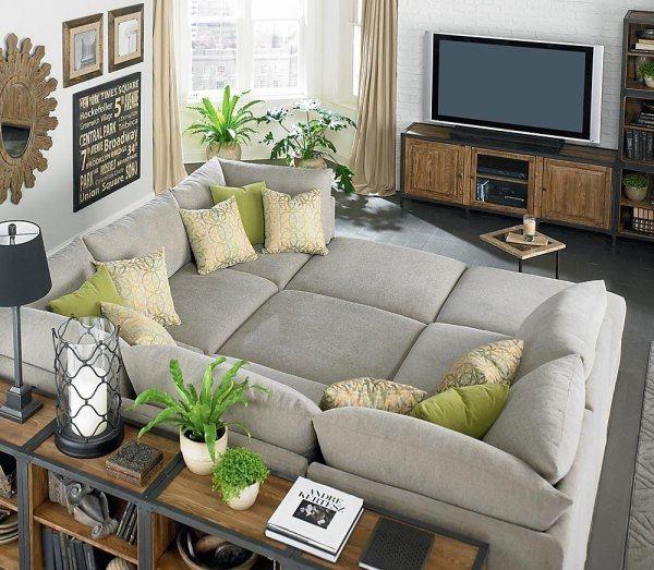 Модульный диван для гостиной (49)