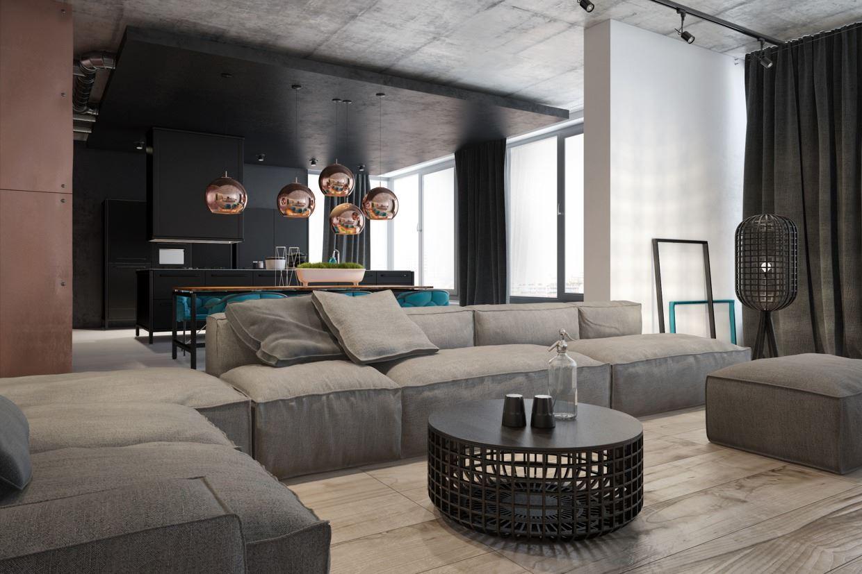 Модульный диван для гостиной (5)