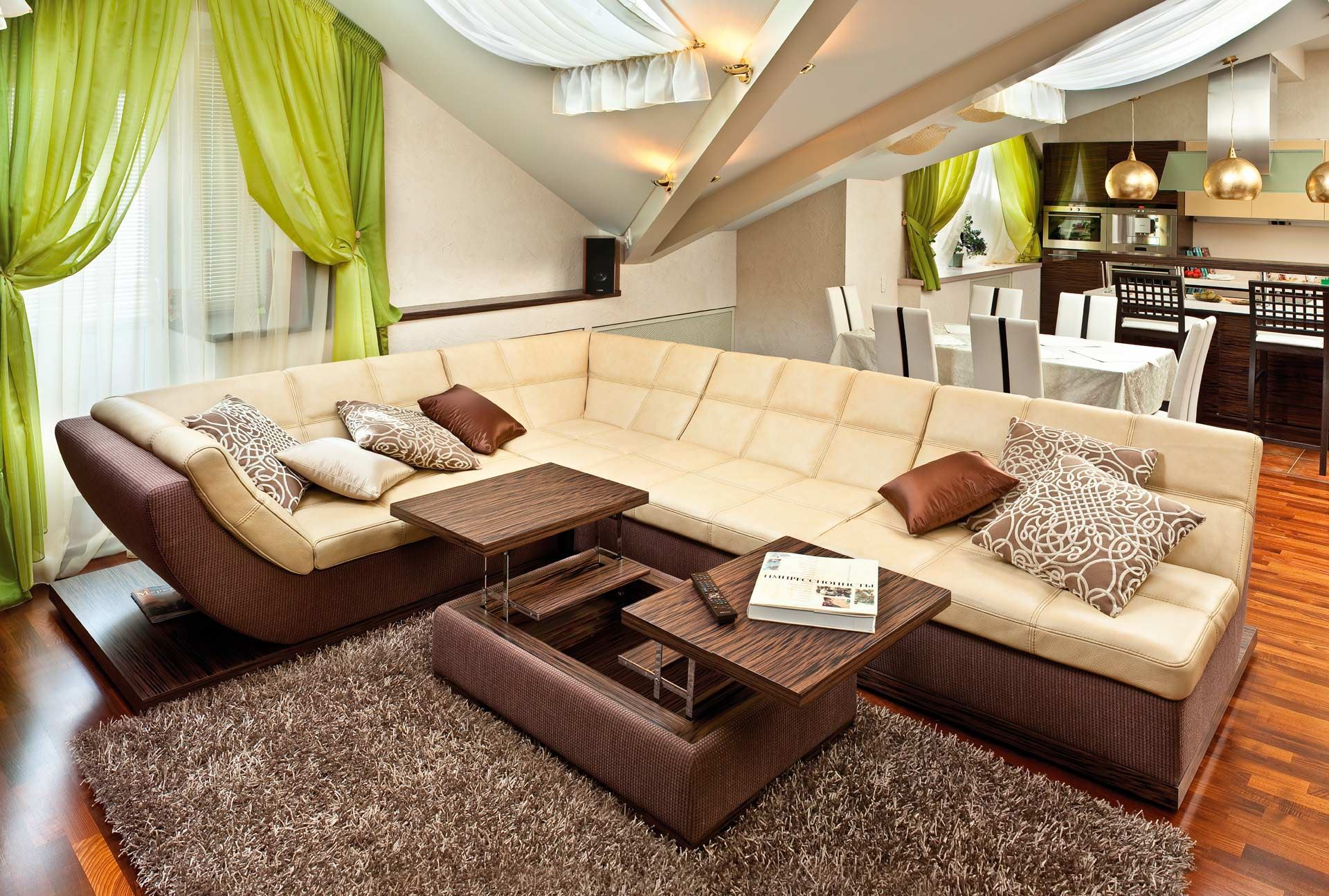Модульный диван для гостиной (65)