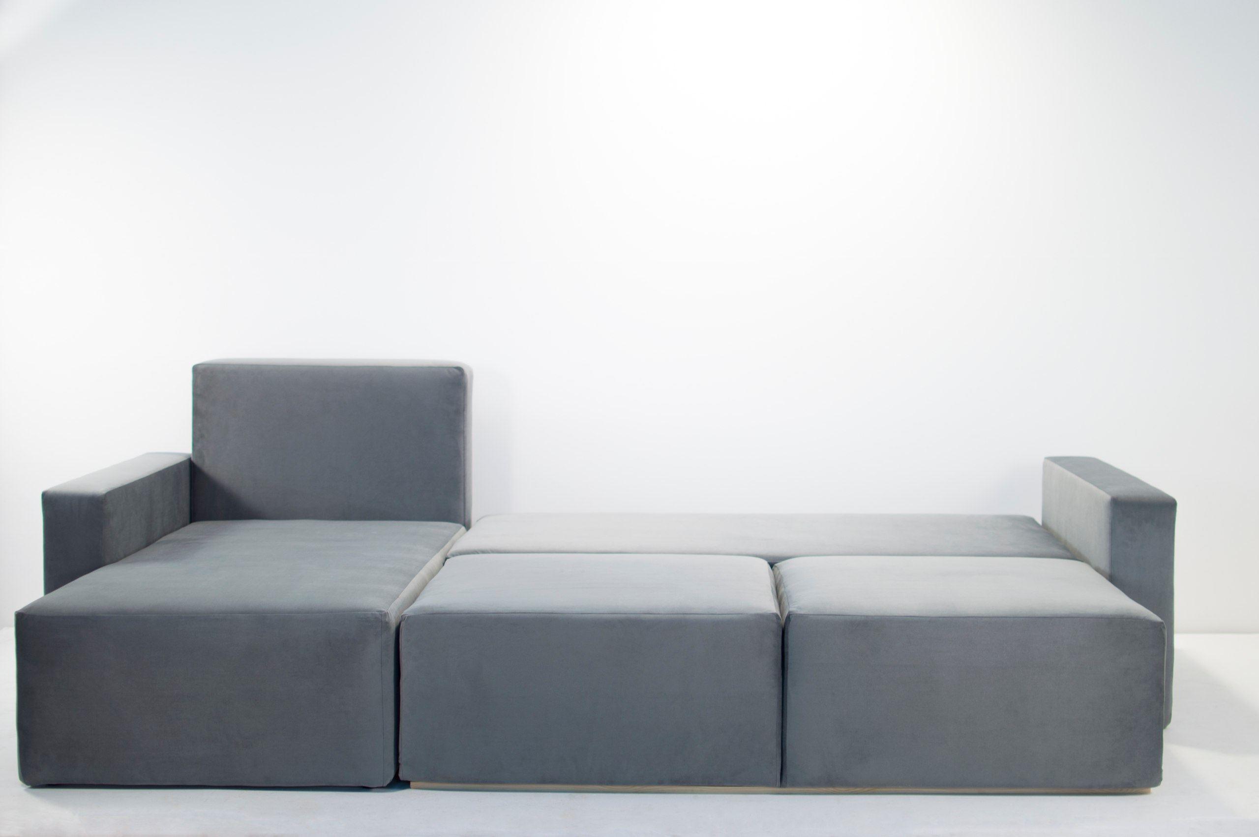 Модульный диван со спальным местом (27)