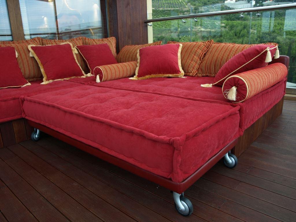 Модульный диван со спальным местом (7)