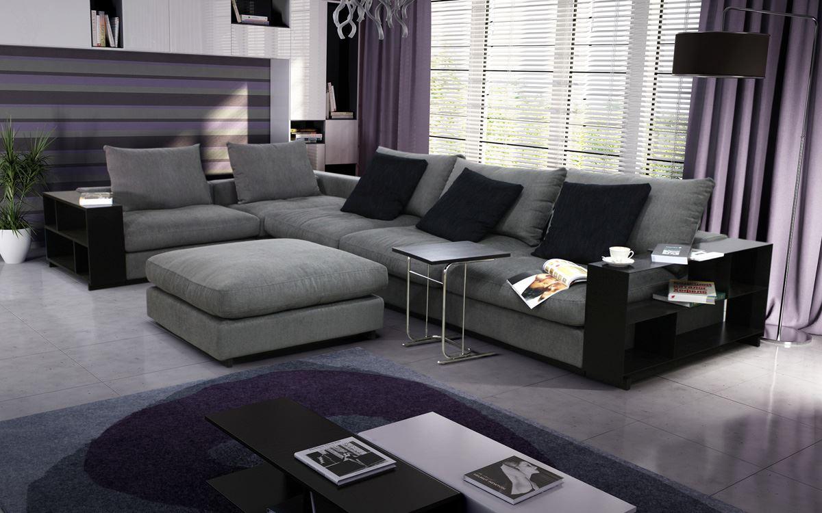 Островной диван в интерьере (22)