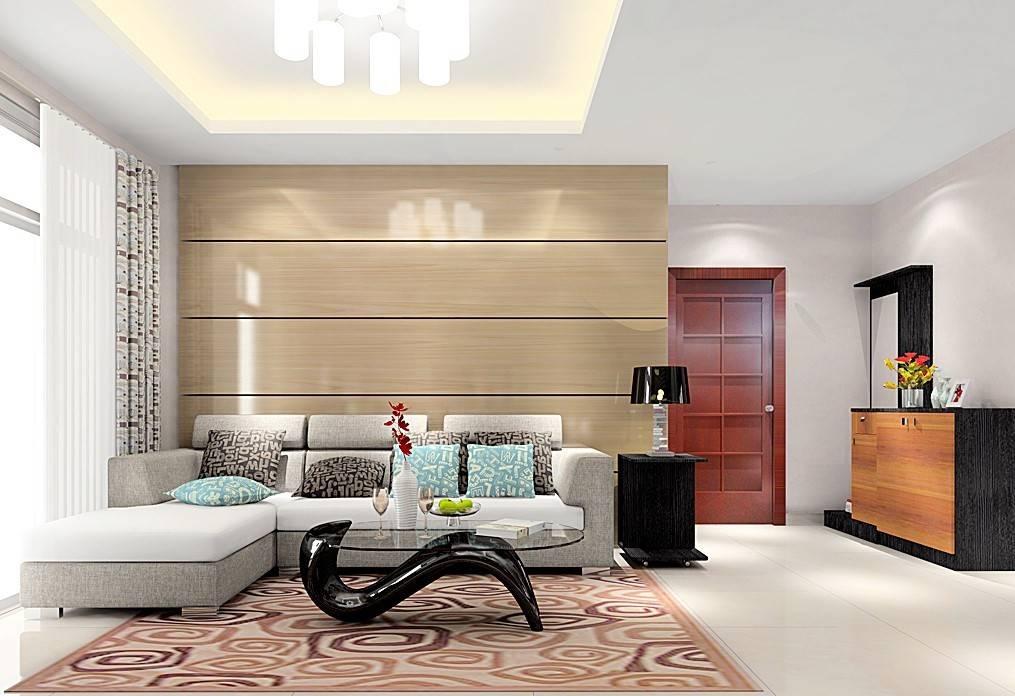 Фото углового дивана со спальным местом в гостиной