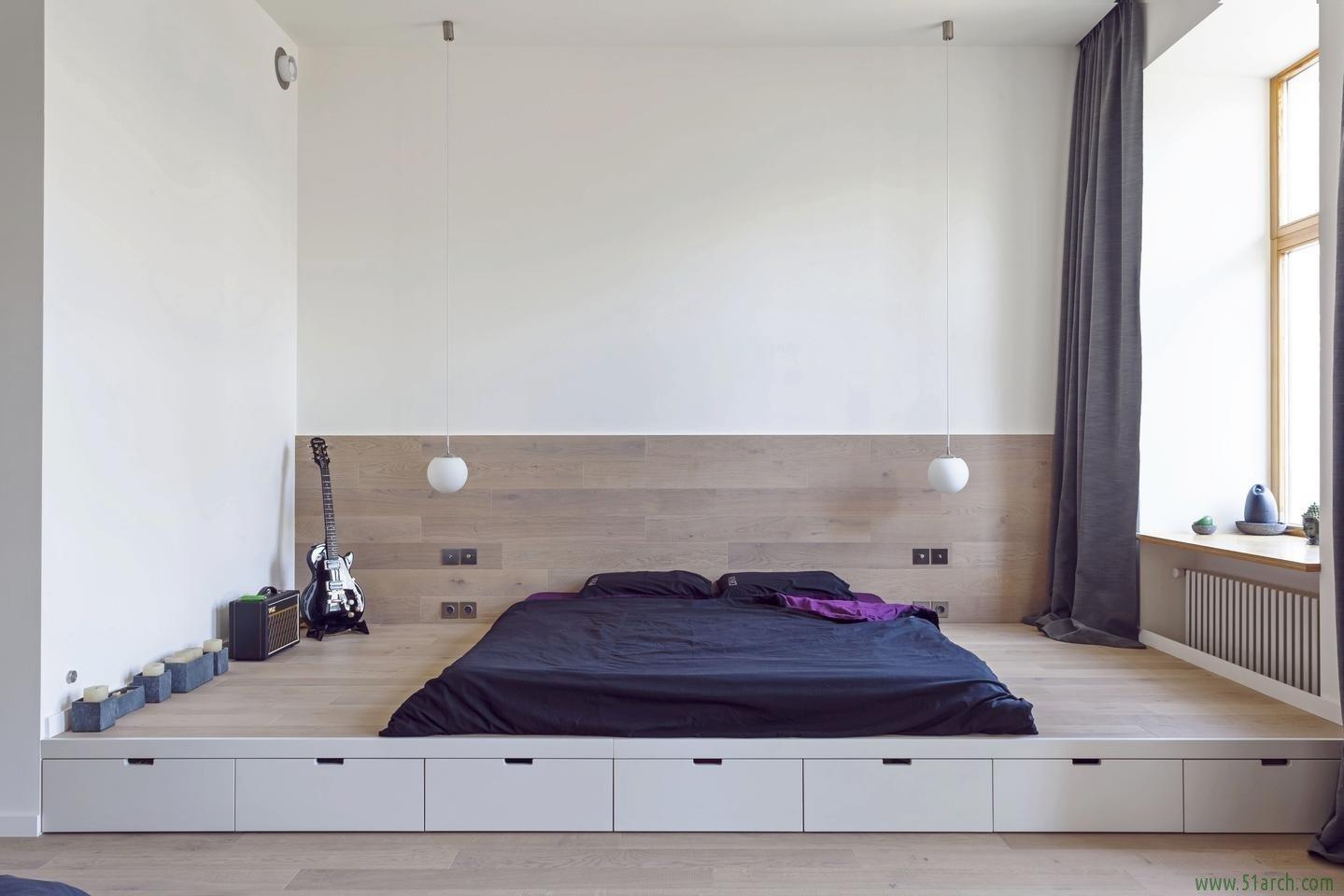 Кровать на полу своими руками фото 99