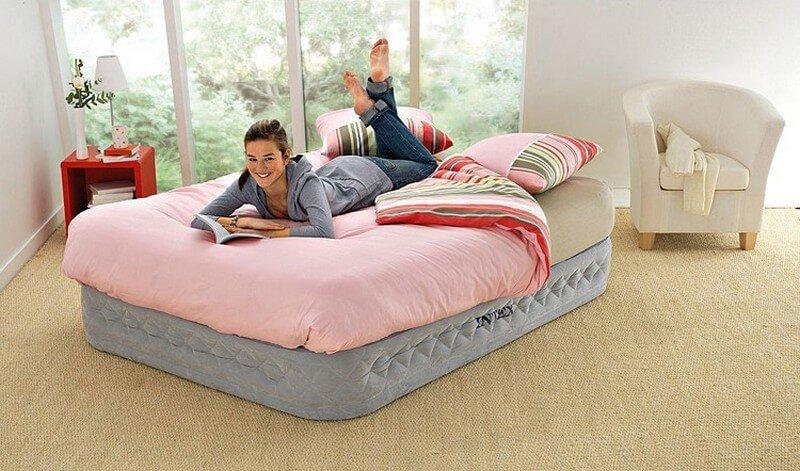 Как сделать диван из надувного матраса 20