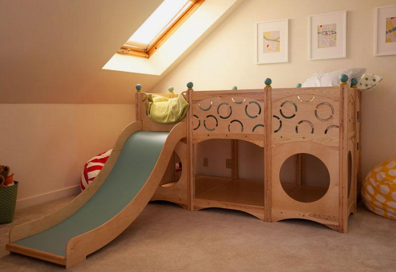 Оригинальные детские кровати своими руками 51