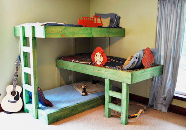 Как сделать кровати для детей