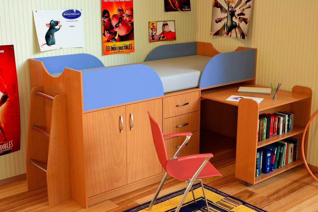 Школьный уголок своими руками в маленькой комнате