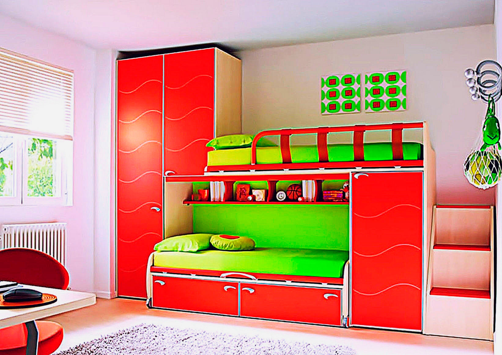 Двухъярусные кровати для детей со шкафами фото цена
