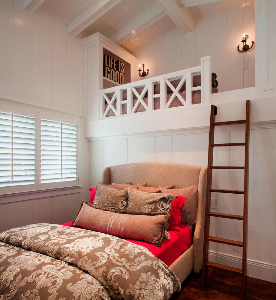 Спальня под потолком своими руками 88