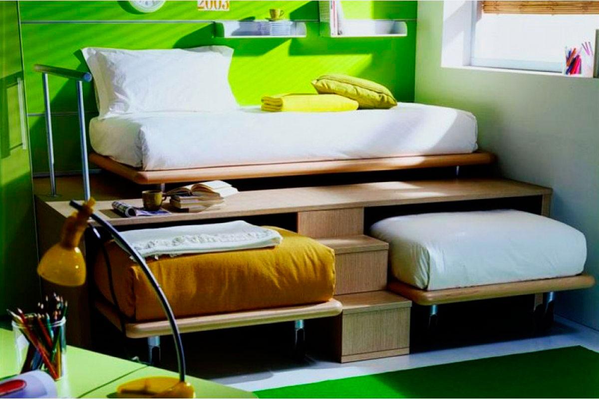 Выдвижные кровати как сделать