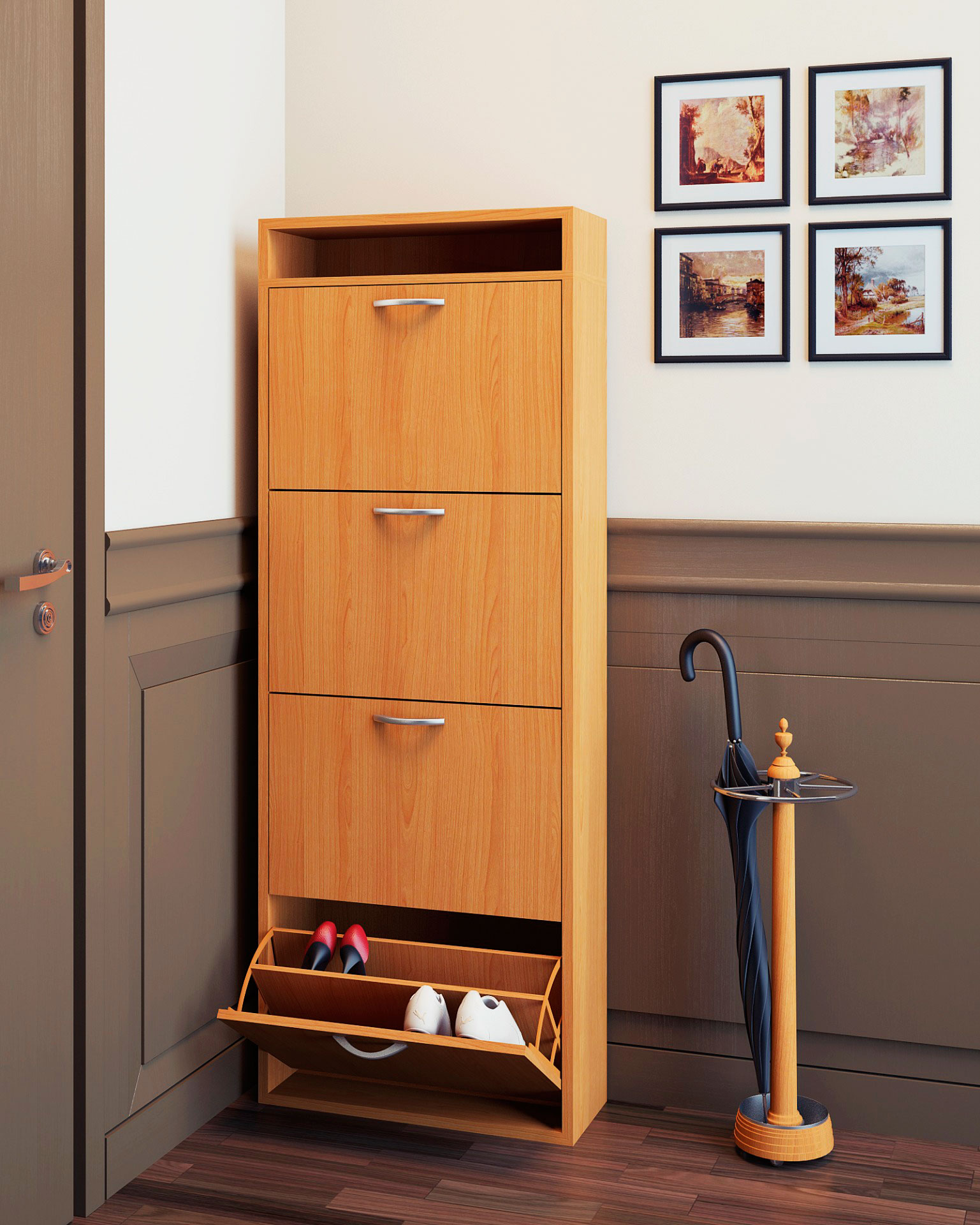 Шкафы для обуви своими руками фото 998