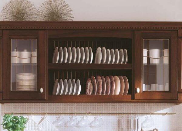 Навесной шкаф для посуды на кухню своими руками 92