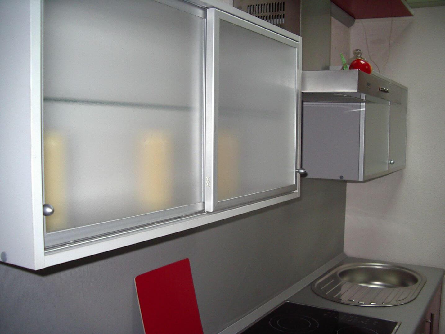 Раздвижные двери для кухонного шкафа своими руками 13